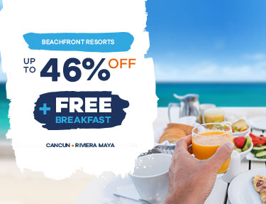 UP TO 50% OFF + FREE DAILY BREAKFAST FOR ALL