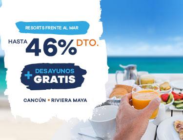 HASTA 50% DTO + DESAYUNOS PARA TODOS