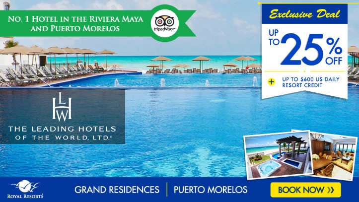 Resort Credits - Grand Residences Riviera Cancun