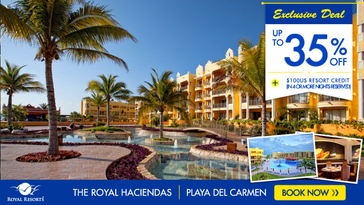 Resort Credits - The Royal Haciendas All Inclusive