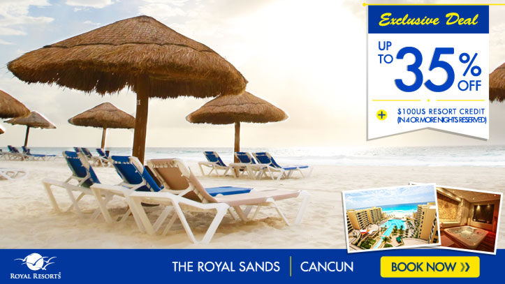 Resort Credit - The Royal Sands Resort & SPA All Inclusive