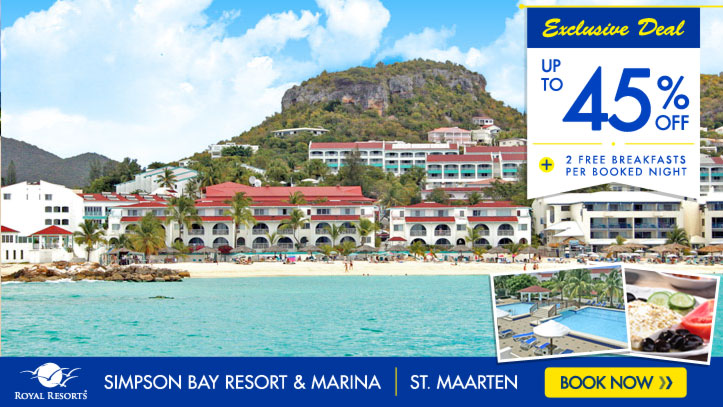 Summer Sale - Simpson Bay Resort & Marina