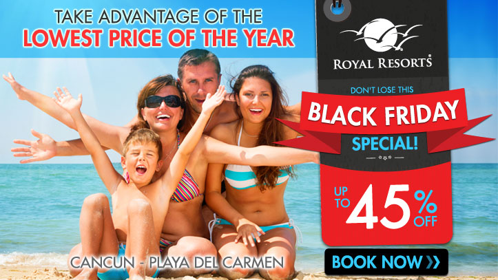 Resort Credit - The Royal Cancun, All Inclusive, All Suites Resort