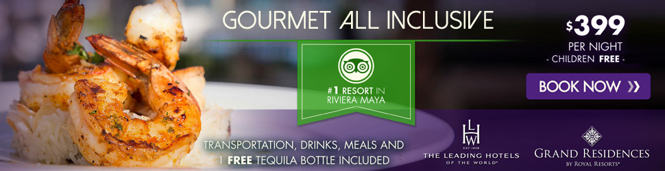 Gourmet All Inclusive - Grand Residences Riviera Cancun