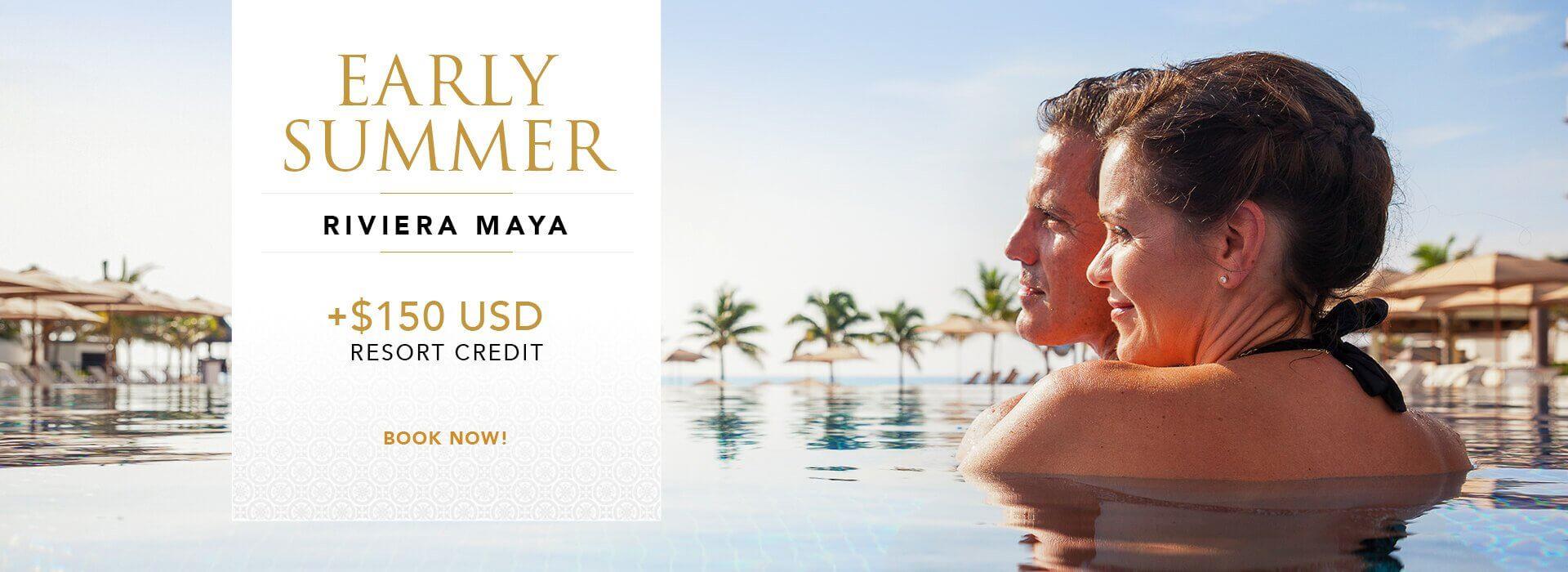 Early Summer vacation deal in Riviera Maya