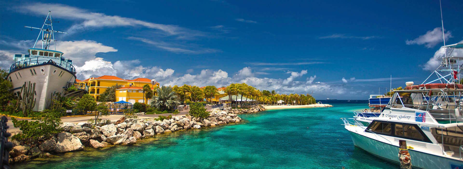 the royal sea aquarium resort en Curacao