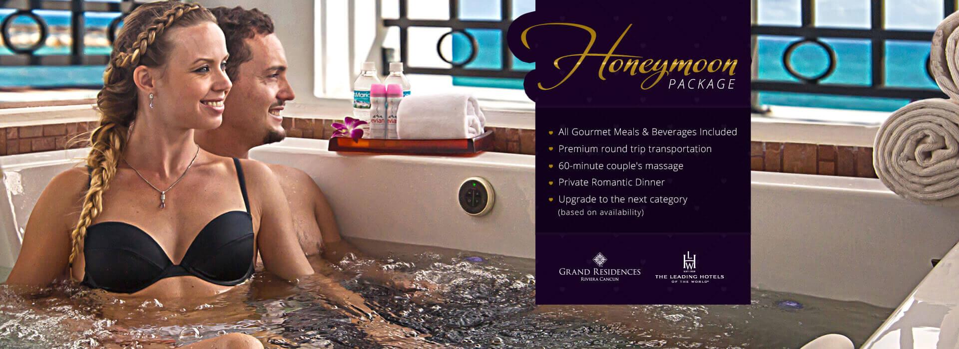 Riviera Maya Honeymoon Package