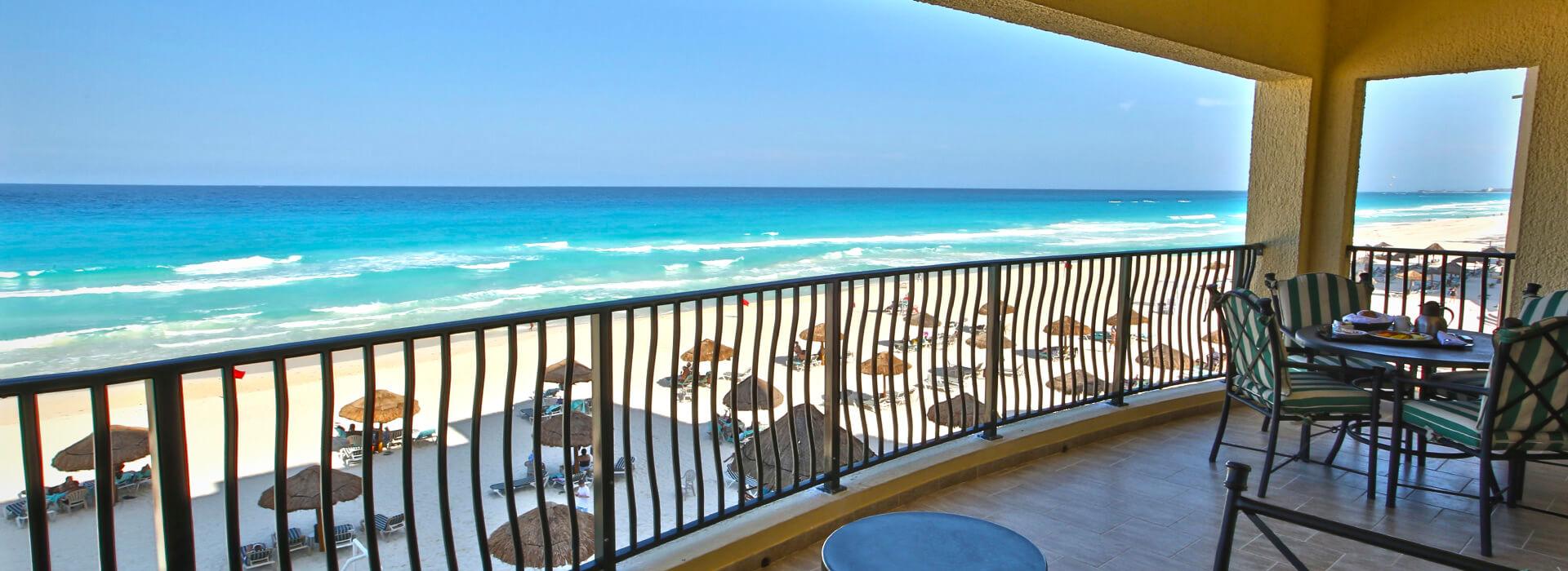 Cancun beachfront all inclusive resort