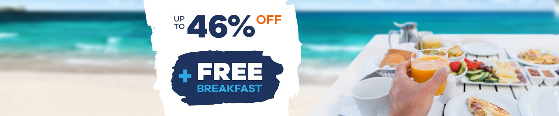 Hotels Free Breakfast | Royal Reservations