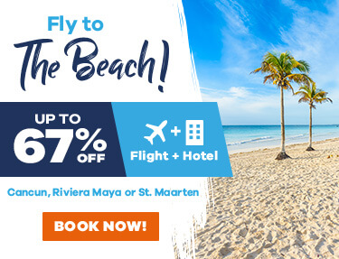 Fly to the beach