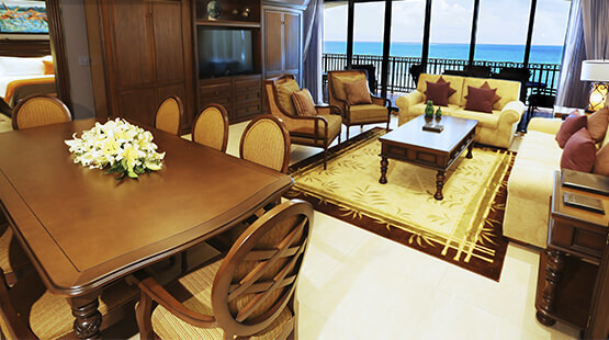 Resort Suite with beach access