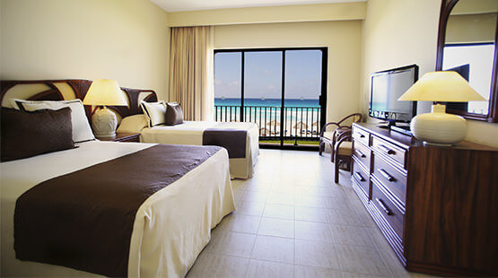 breachfront suite in Cancun