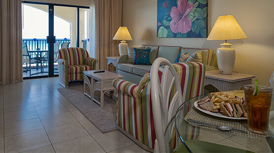 One bedroom beachfront suite at the Royal Islander