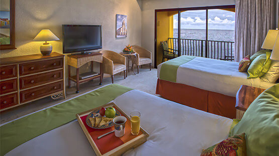 junior suite ocean view in Curacao Resort