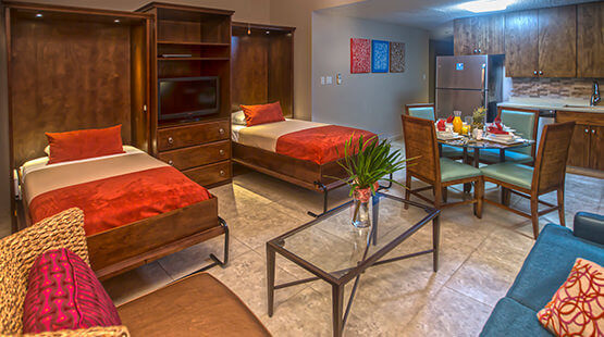 Fully equipped villas in Cancun resort