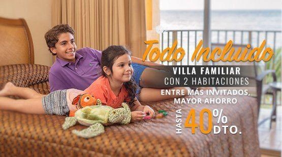 vacaciones familiares en Cancún
