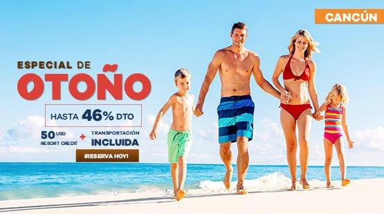 Oferta de Vacaciones a Cancún