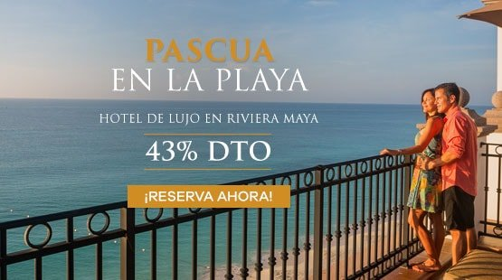 Pascua Anticipada en Resort de Playa