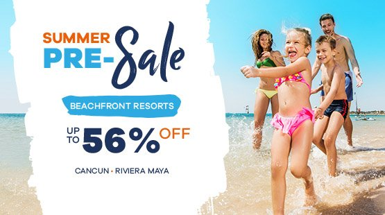 Early Summer vacation deal in Playa del Carmen