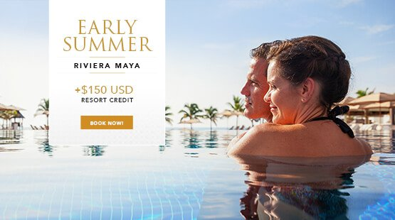 Early Summer vacation deal in Riviera Maya