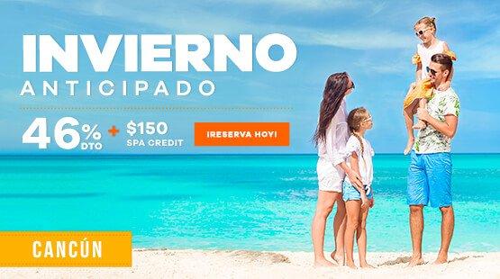 Vacaciones de Invierno en Cancún