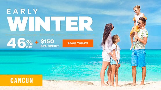 Winter Vacations in Cancun