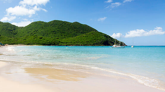 Best Caribbean Island beach