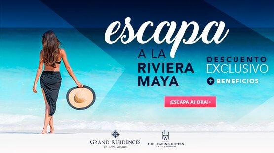 Oferta de Vacaciones Riviera Maya