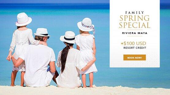 Spring Family Vacation Riviera Maya