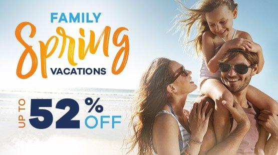 Vacaciones Familiares esta Primavera