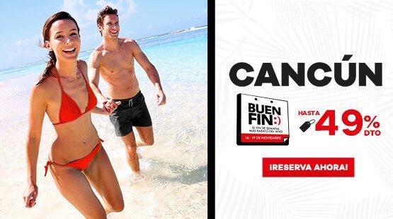 Oferta de Vacaciones de Buen Fin a Cancún