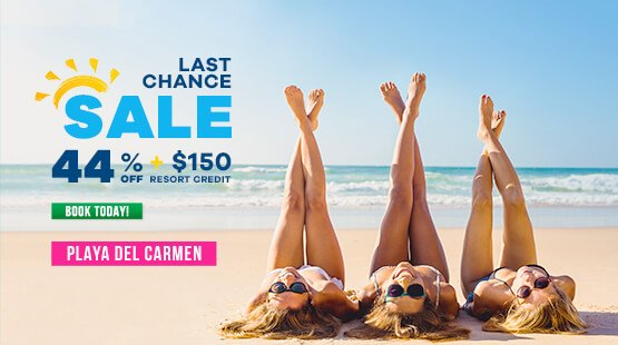 Sale to Travel to Playa del Carmen