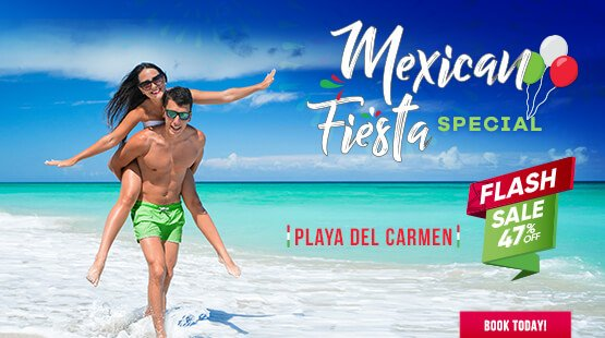 Mexican Fiesta  for Playa del Carmen Vacations!