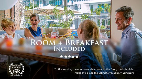 Room plus breakfast included