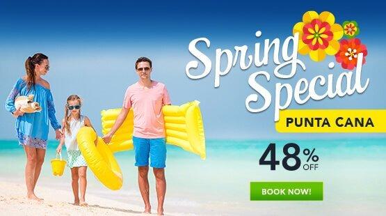 Spring Vacation Punta Cana