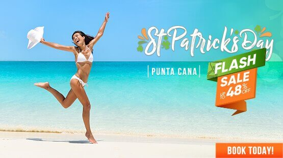 St Patrick's Flash Sale for Punta Cana Vacations!