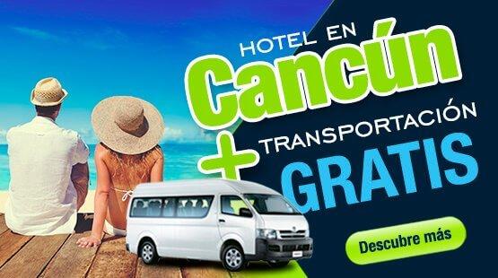 Resort en Cancún con Transportación incluida