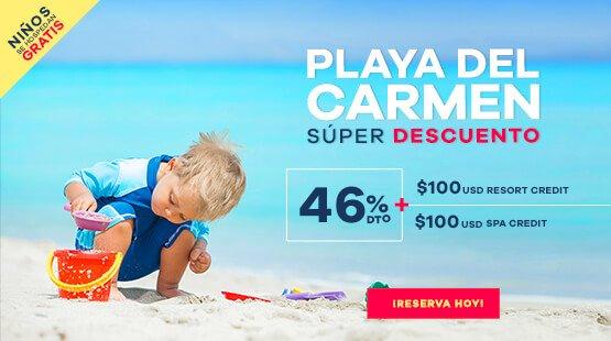Oferta de Vacaciones a Playa del Carmen