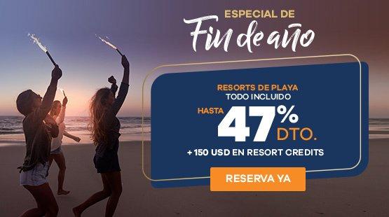 Oferta especial de Fin de Año 2019 en Cancún