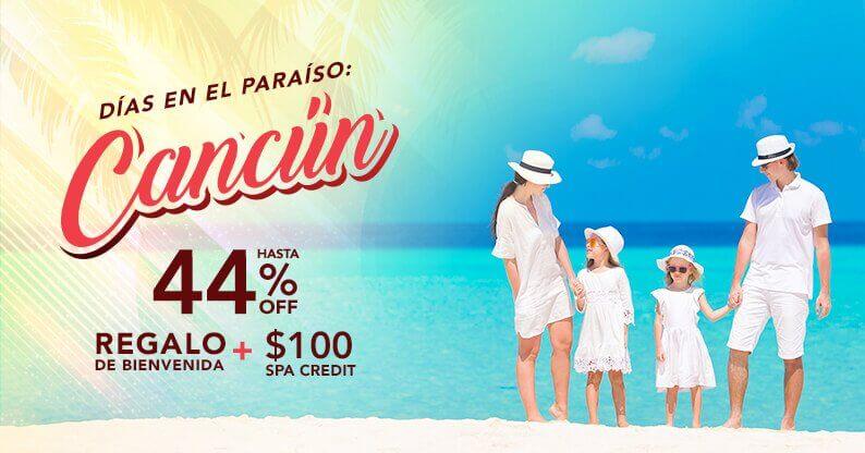 Especial de Vacaciones en Cancún