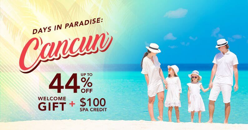 Cancun Special Vacation Offer