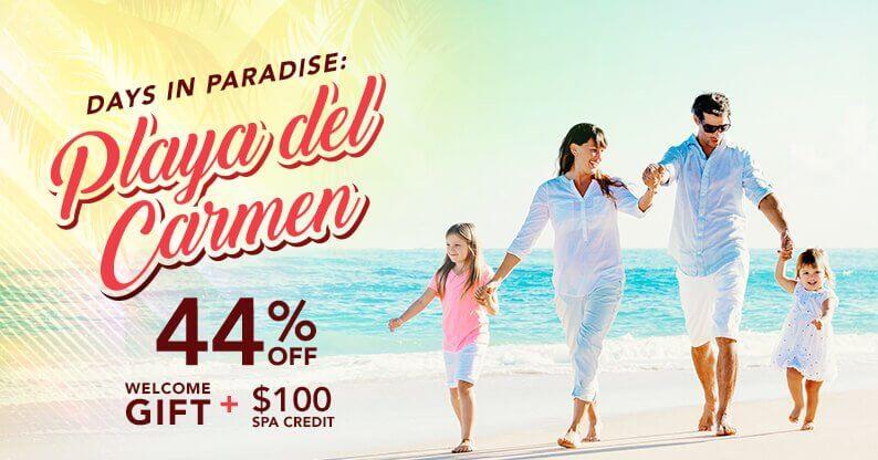 Playa del Carmen Special Vacation Offer