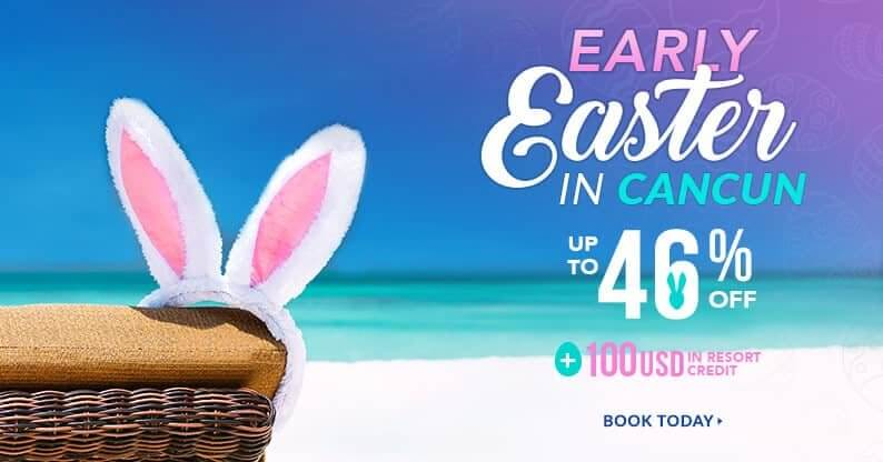 easter vacations offer in cancun