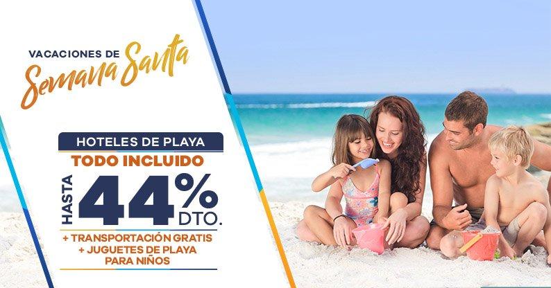 Semana Santa en Resorts de Playa