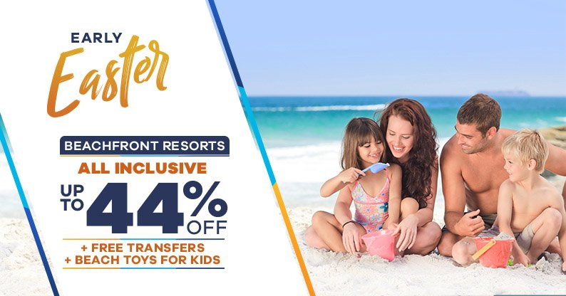 Easter Vacation on Beachfront Resorts
