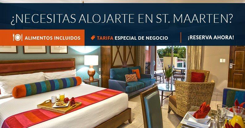 St Maarten Tarifa de Negocios con Alimentos Incluidos
