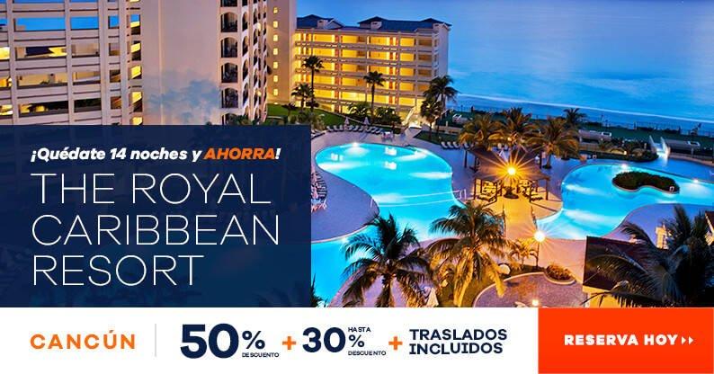 Oferta The Royal Caribbean Hotel en Cancún