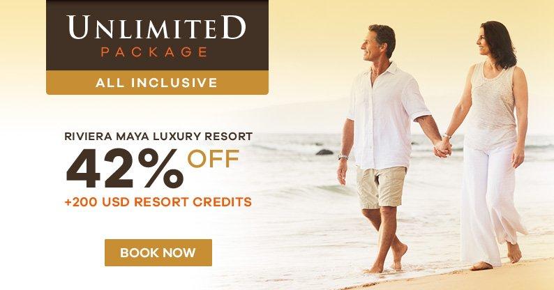 Riviera Maya: Unlimited Package
