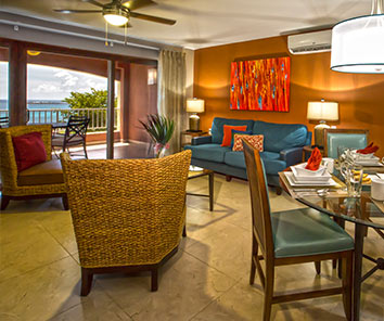 Nestled on a hillside overlooking Simpson Bay, one of the most popular spots on St. Maarten