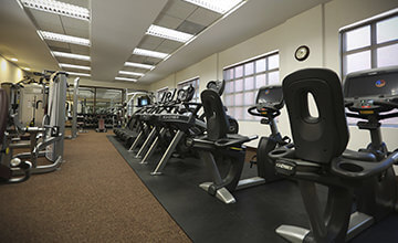 24 hours fitness center in Grand Residences Resort in Riviera Maya
